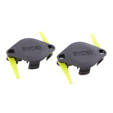 Ryobi Dual Bladed Line Trimmer Heads - 2 Pack for 18V 36V RLT OCT CLT