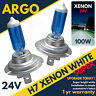 H7 24v Xenon Headlight White Headlamp 24 v 100w Hid Halogen 499 Fog Light Bulbs