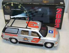 1:24 ACTION BROOKFIELD 2003 #3 GM GOODWRENCH SILVER SUBURBAN DALE EARNHARDT SR