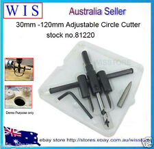 30-120mm Adjustable Circule Hole Saw Cutter for plaster,plywood hole Cutter81220