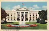 Postcard White House Front Washington DC