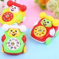 Hot Cartoon Phone Baby Toy Music Educational Developmental Toys New Kids T5C2