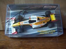 1/43 RENAULT 2009 RACE CAR ING BOXED FERNANDO ALONSO SIGNED ON PLASTIC LID