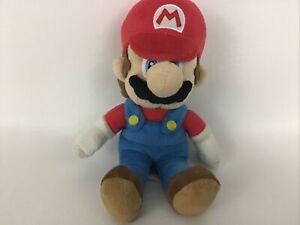 "Super Mario Bros Mario 8"" Plush Bean Bag Stuffed Animal Toy Nintendo 2010"