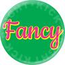 Fancy Button Pin Pinback Badge handmade custom made to order