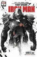 Tony Stark: Iron Man #5 MARVEL COMICS  LEGACY 2018 COVER A 1ST  PRINT