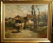 Hermann Schmidtmann, 1869-1936, Bauer mit Kuh, Impressionismus, Eifel