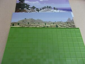 Minecraft Stop Motion Movie Creator stage background cards  replacement piece