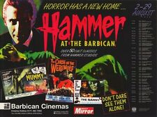 HAMMER FILM PRODUCTIONS LIMITED Movie POSTER 30x40