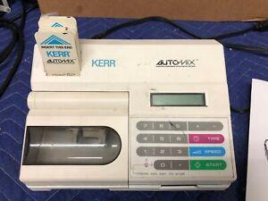 Kerr Automix Model 23425 Amalgamator Computerized Dental Amalgam Mixing System