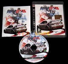 SUPERSTARS V8 RACING Ps3 Versione Ufficiale Italiana 1ª Edizione ••••• COMPLETO
