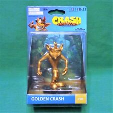 Totaku Collection Golden Crash Bandicoot Gold Figure No 29 NIB