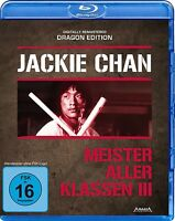 JACKIE CHAN - MEISTER ALLER KLASSEN3-DRAGON EDITION  BLU-RAY NEU