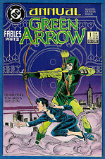 GREEN ARROW Annual # 1  - DC 1988  (vf) Batman