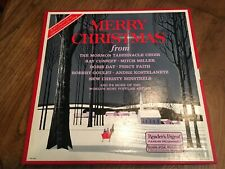 Merry Christmas Music- 4 BOX SET- Mid Century Classics-Readers Digest Collection