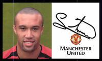 Michael Silvestre Autogrammkarte Manchester United Original Signiert+A 114485