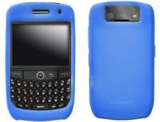 Silicone Gel Case Blue For BlackBerry Curve 8900