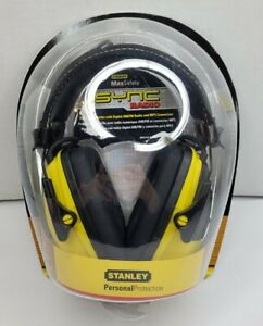 NEW Stanley SYNC Digital AM/FM/MP3 Radio/Hearing Protection Headphones RST-63012