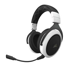 Corsair HS70 Wireless Gaming Headset with 7.1 Surround Sound White Carbon White
