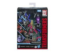 Hasbro 3 Pack 4.5in Transformers Studio Series 52 CHROMIA, ARCEE, & ELITA-1