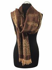 Pashmina Damen Herren Schal Stola Schultertuch Bone Hijab Kopftuch ETSV 011-10