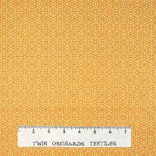 Christmas Fabric - Let It Snow Snowflake Geometric Yellow - Benartex YARD