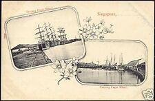 singapore, Tanjong Pagar Wharf (ca. 1899)