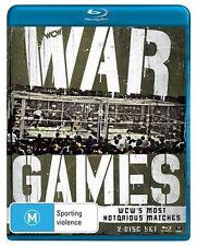 WWE - Best Of War Games (Blu-ray, 2013, 2-Disc Set) New  Region B