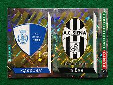 CALCIATORI 2000 1999-00 n 685 SANDONA' SIENA SCUDETTO , Figurina Panini NEW