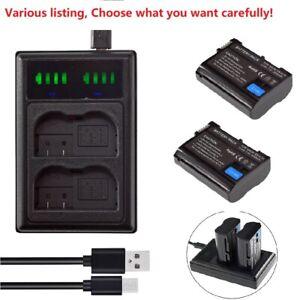 EN-EL15B Battery or charger for Nikon D850 D7500 D750 D810 Z6 Z7 Mirrorless D750