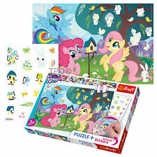 Trefl 35 Piece Jigsaw Puzzle + Removable Stickers My Little Pony Kids Girls Game