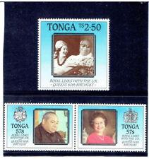 TONGA 1986 Queen Elizabeth II's Birthday