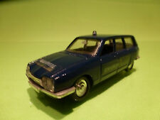 LUSO-TOYS CITROEN GS BREAK PALLAS - GENDARMERIE - 1:43 -RARE SELTEN- GOOD COND.