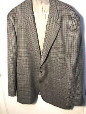 Vintage Chaps Ralph Lauren Pure New Wool 2 Button Sport Coat Blazer Men's 46R 46