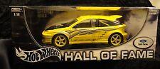 Hot Wheels Hall of Fame Ford Focus hatchback 1/18 New