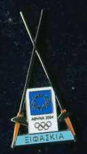 New listing ATHENS 2004. OLYMPIC GAMES. TROFE PIN. FENCING. IN ORIGINAL CARD