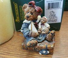 Bailey Bear with Suitcase Boyds Bears Figurine 2000