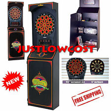 Electronic Dart Game Arcade Style Man Cave Play Bar Coffee Shop Room LED Cabinet