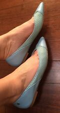 Mimco 💞 37 Or 6 New Ice Pop Ballet  Leather Shoes Sandals Flats