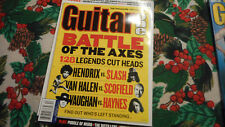 Guitar One Magazine December 2003 Battle Of The Axes Vernon Reid Fuel