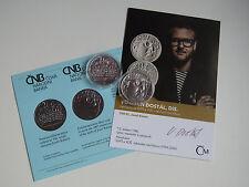 La república checa 2017 200 coronas moneda de plata coin St bu-Josef Kainar -