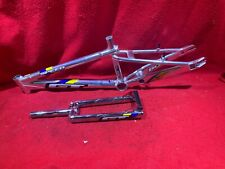 NOS VINTAGE 1999 GT SPEED SERIES XL FRAME AND FORK BMX FREESTYLE RACING