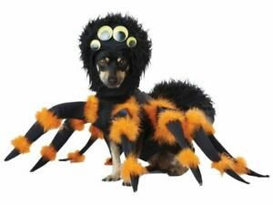 Spider Dog Costume Pet Puppy Halloween Funny Scary Black Brown Scorpion Best Pup