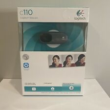 Logitech c110 Web Cam - New!  Simple Plug and Play Setup