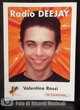 FIGURINA VALENTINO ROSSI Radio Deejay adesivo 6 x 8,5