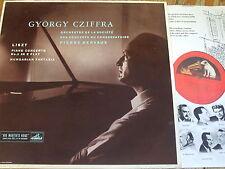ALP 1455 Liszt Piano Concerto No. 1 etc. / Cziffra / Dervaux R/G