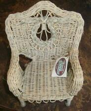 GANZ COTTAGE COLLECTIBLE  SMALL DECORATIVE  ARM CHAIR  ARTIST DESIGNED