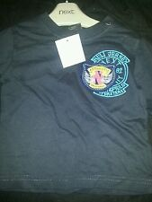 6-9 Month Blue T-Shirt NEXT Authentic Originals 82 Long Sleeve Navy Baby/Boy/NEW