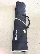SNOWBOARD BAG, Head 170cm Double Ski Bag,DELUXE STRAPS, SKI CARRIER, FOLDS UP SM