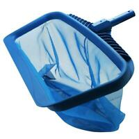 Swimming Pools Skimmer Net Rubbish Cleaning Rake Leaf Mesh Deep Bag Net Cleaner